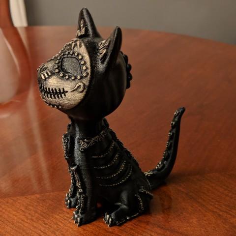 IMG_20180925_235733[1].jpg Download free STL file Sugar Cat • 3D printer design, mag-net