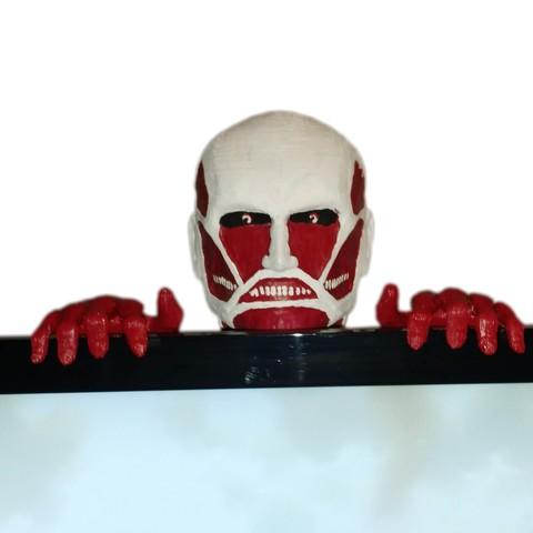 Download free STL file Attack on Titan - Colossus Titan • Design to 3D print, mag-net