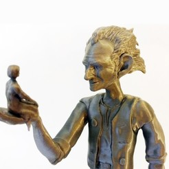 Download free 3D printer files BFG and Sophie, mag-net