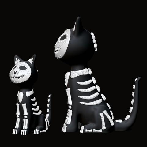 6975bc1a235b6270c13b40bd1d8d84c5_display_large.jpg Download free STL file Sugar Cat • 3D printer design, mag-net