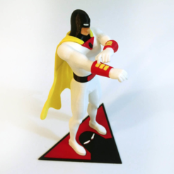 Free STL Space Ghost, mag-net