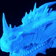 Free 3d printer model Dragonology II - Head HD, mag-net