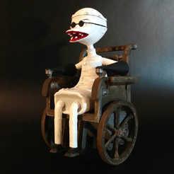 Free 3D print files Dr. Finkelstein - The Nightmare Before Christmas, mag-net