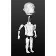 Download free STL file Attack on Titan - Bobblehead • 3D print template, mag-net