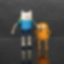 Finn_Arms_Tan.stl Download free STL file Adventure Time - Finn and Jake • 3D printing design, mag-net