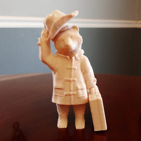Free Paddington Bear 3D printer file, mag-net