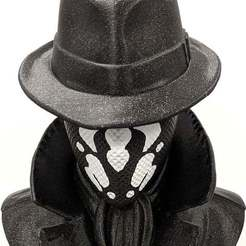 Download free 3D printer designs Rorschach - Watchmen, mag-net