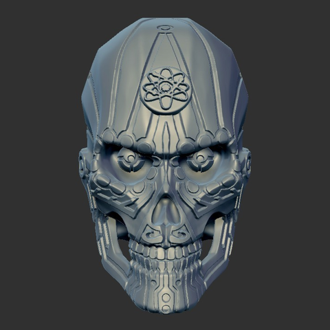 Capture d'écran 2017-09-18 à 10.51.51.png Télécharger fichier STL gratuit Aspartame Skull • Plan pour imprimante 3D, mag-net