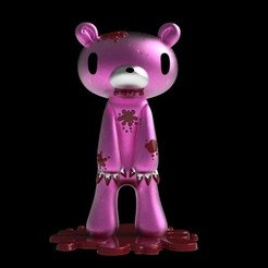 Download free STL file Gloomy Bear, mag-net