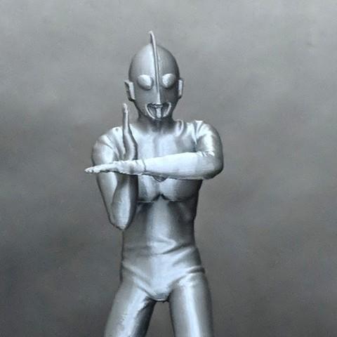 Free 3D printer files Ultraman, mag-net