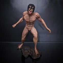 93ed4a5de93b83c1e1844f885b5e3e32_display_large.jpg Download free STL file Eren - Attack on Titan • 3D print model, mag-net