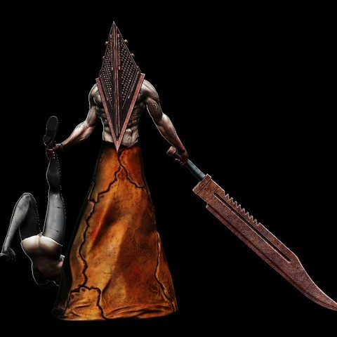Download free 3D printing models Pyramid Head, mag-net