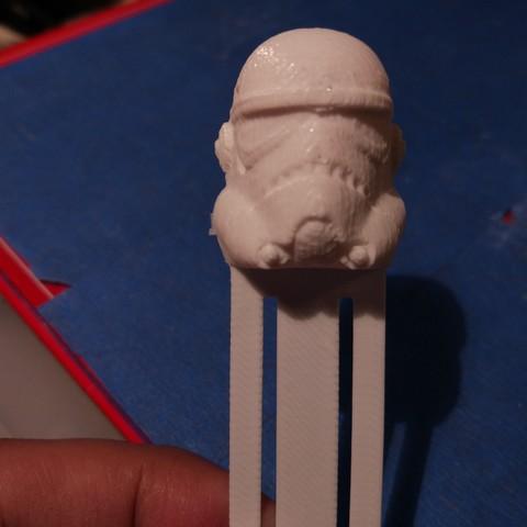 Download free STL file Trooper Book Separator • 3D printer template, hermesalvarado
