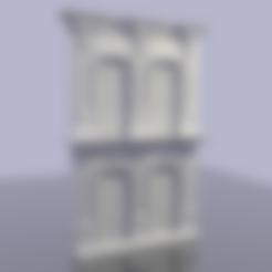 Download STL file Neoclassical Facade • Design to 3D print, hermesalvarado