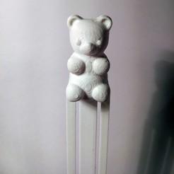 Download 3D printing designs Gummy Bear Bookmark, hermesalvarado