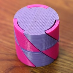 Free 3d printer files Twist box, RevK