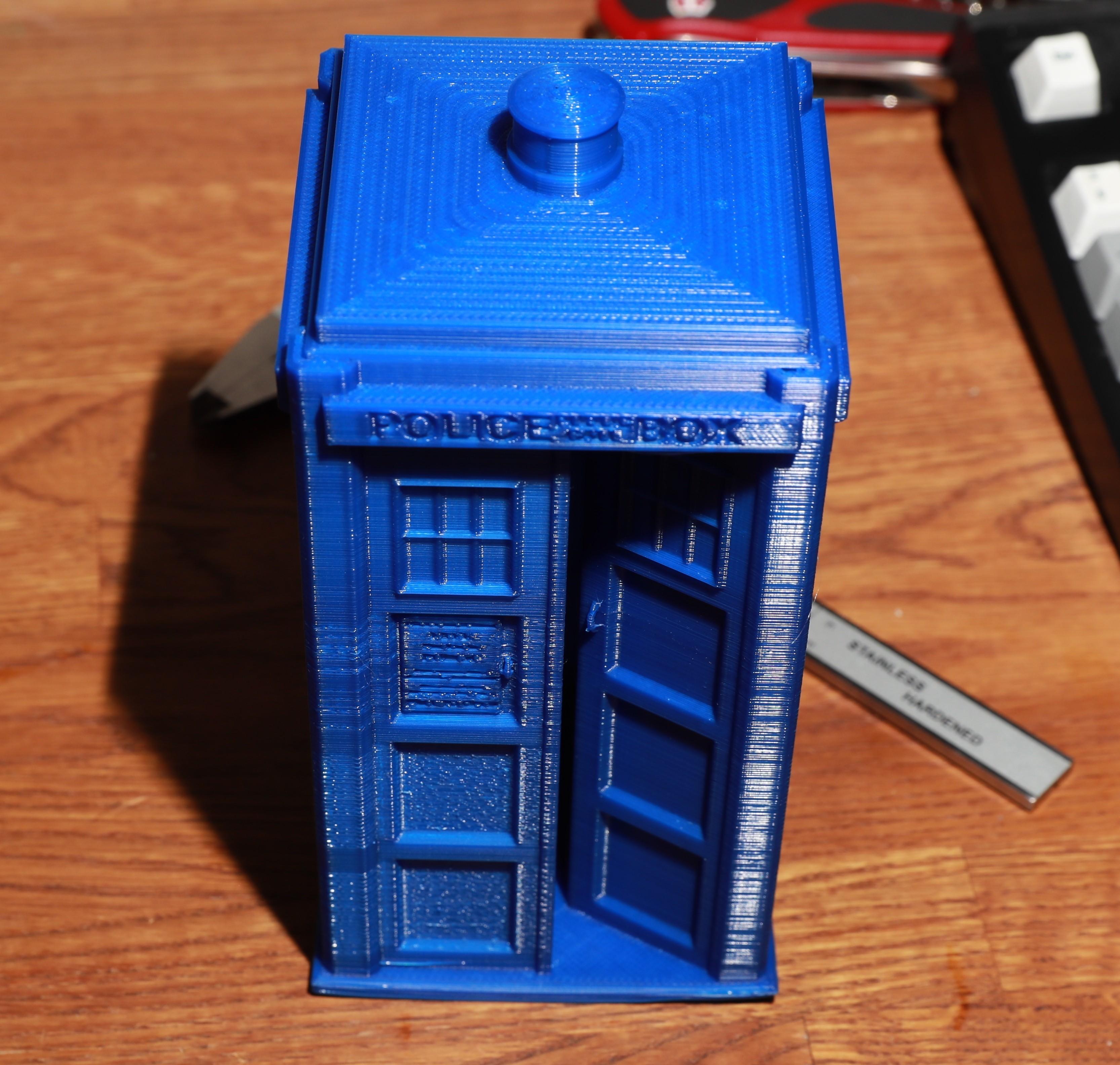 AJKL4995.jpg Download free STL file Large TARDIS • 3D printable object, RevK