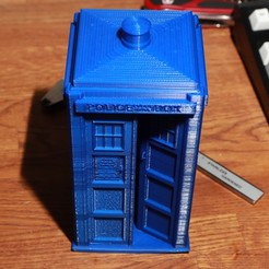 Download free 3D printing files Large TARDIS, RevK