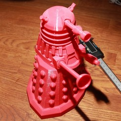 Free 3D printer files Large DALEK, RevK