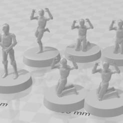 Télécharger fichier 3D C3PO starwars legion, MikeGloden