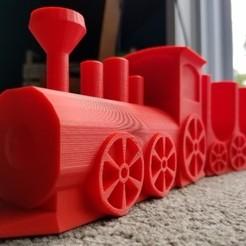 Impresiones 3D gratis Taco de tren, AbuzzDesigns