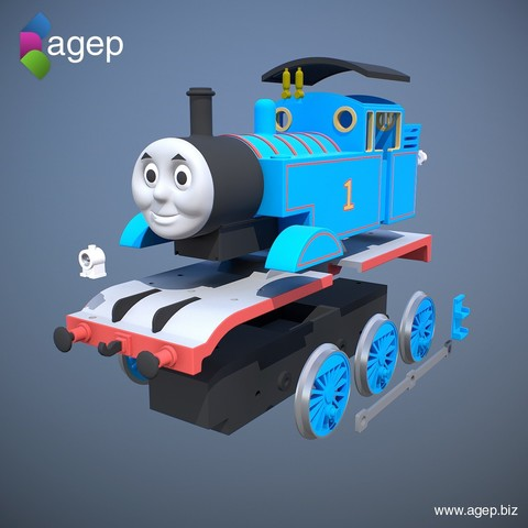 Agepbiz Free Stl Files Thomas The Tank Engine