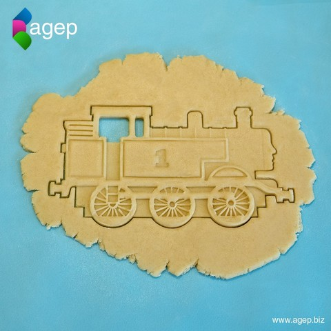 Download free 3D model Detailed Thomas the Tank Engine Cookie Cutter, agepbiz