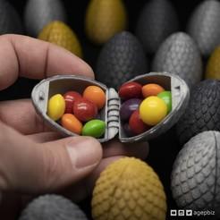 Descargar archivos 3D Surprise Egg #10 - Huevo de Dragón Hueco, agepbiz