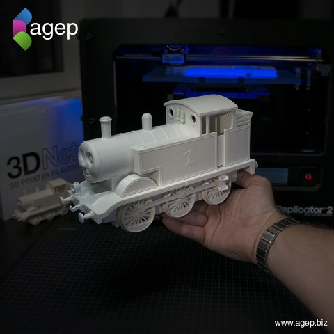 Télécharger fichier impression 3D gratuit Grand Thomas the Tank Engine - Thomas & Friends, agepbiz