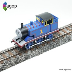 Free 3D printer model Railroad Track Section - Thomas & Friends, agepbiz