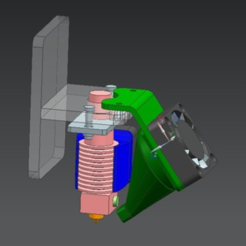 Download free STL file Layer fan PRUSA I3, Migfue