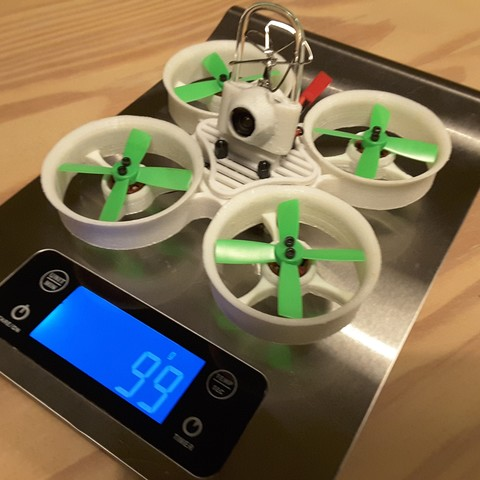 20170401_212036.jpg Download free STL file Woop 105mm Indestructible TPU 1103 7800kv 3S • 3D printer design, Microdure