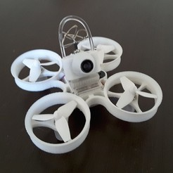 20170224_152907.jpg Download free STL file Indestructible Tiny Whoop TPU 90mm 2S • 3D printable model, Microdure