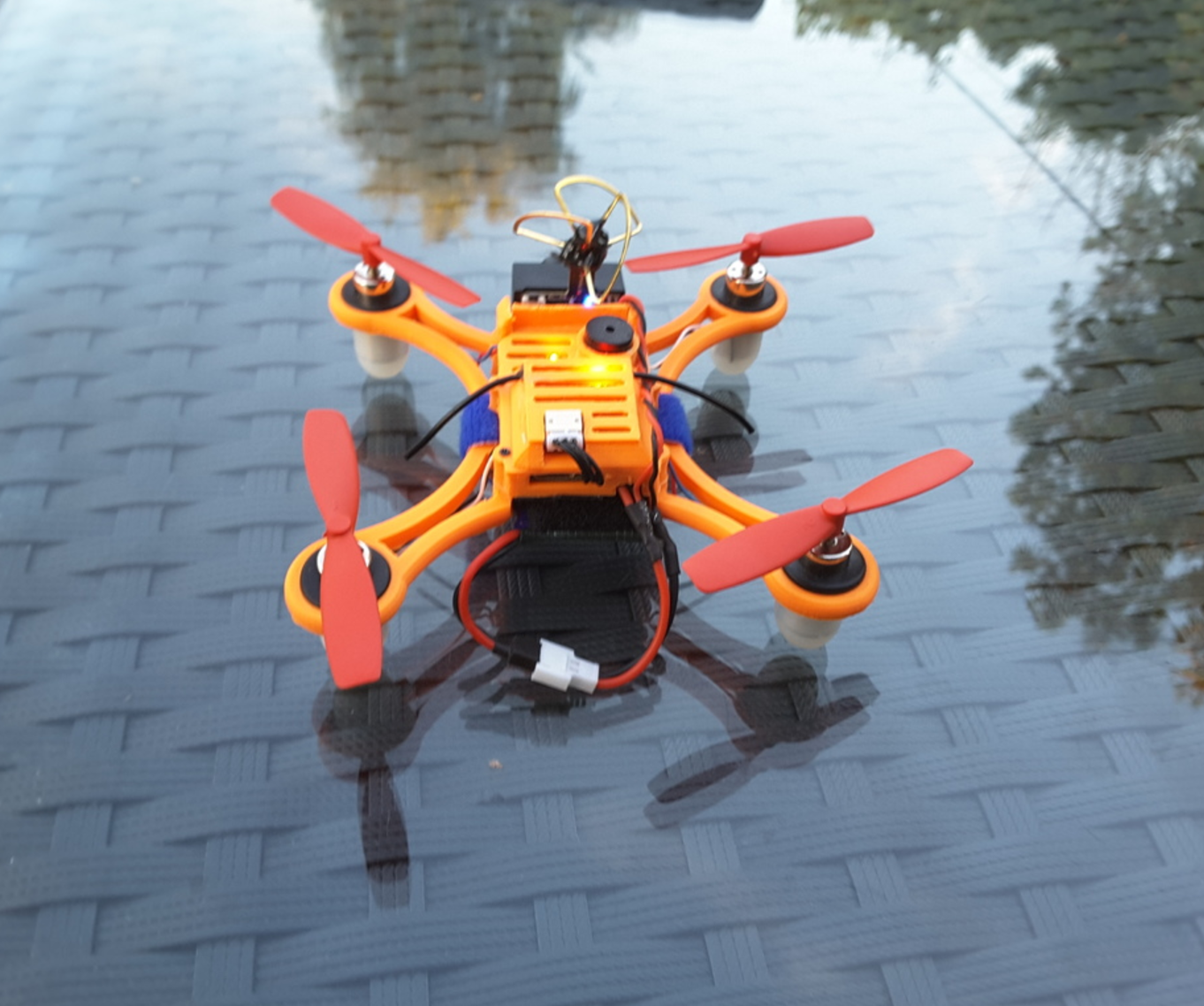 Capture d'écran 2017-02-20 à 11.10.07.png Download free STL file DC110 ABS FPV for SP F3 RACING EVO Brush Flight control • 3D printable model, Microdure