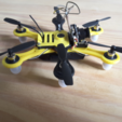 Download free STL file Hexacopter 1S / 2S 125 / 110mm spracing f3 coreless 8.5x20mm • 3D printer model, Microdure