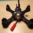 Free STL file Mini Quad Racer 100mm Brushless GemFan 0806 6200kv 2S, Microdure