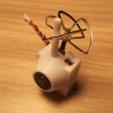 Capture d'écran 2017-02-20 à 11.53.10.png Download free STL file Polycarbonate protection Camera FPV Super Mini 25mW Eachine TX01 / TX02 200mw • Object to 3D print, Microdure