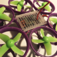 Descargar archivo STL gratis Hexantrix 80mm hexagonal minúsculo chillido se basa spf3 cepillado • Plan para imprimir en 3D, Microdure