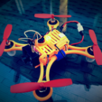 Capture d'écran 2017-02-20 à 11.09.53.png Download free STL file DC110 ABS FPV for SP F3 RACING EVO Brush Flight control • 3D printable model, Microdure