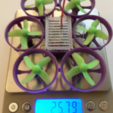 Download free STL file Hexantrix 80mm: Tiny Whoop Hexa based on spf3 brushed • 3D printing design, Microdure