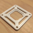 Download free STL file Adapter Flight controler Femto SP Racing F3 Emax STM32F303 F3 • 3D printer template, Microdure