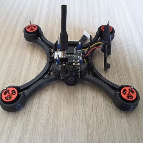 2735327018391787937_account_id=1.jpg Télécharger fichier STL gratuit Micro Quad fpv Racer 100mm Brushless 1S 0703 20.000kv • Modèle à imprimer en 3D, Microdure