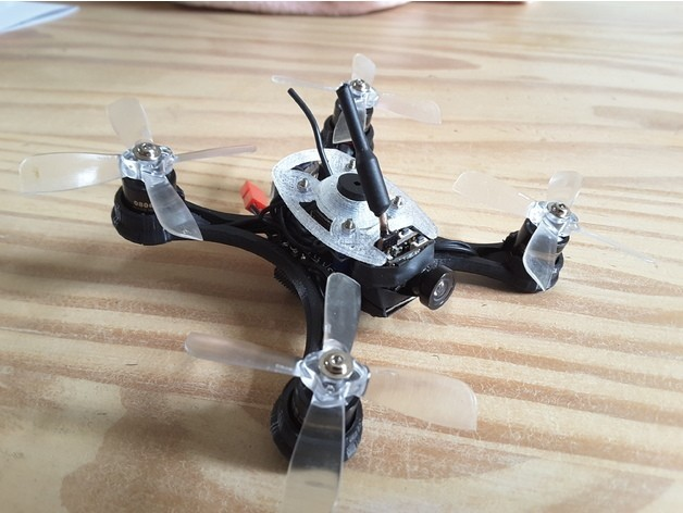 822981432608779b4da0b0dcf1c4c504_preview_featured.jpg Download free STL file Mini Quad Racer 100mm Brushless GemFan 0806 6200kv 2S • 3D printer model, Microdure