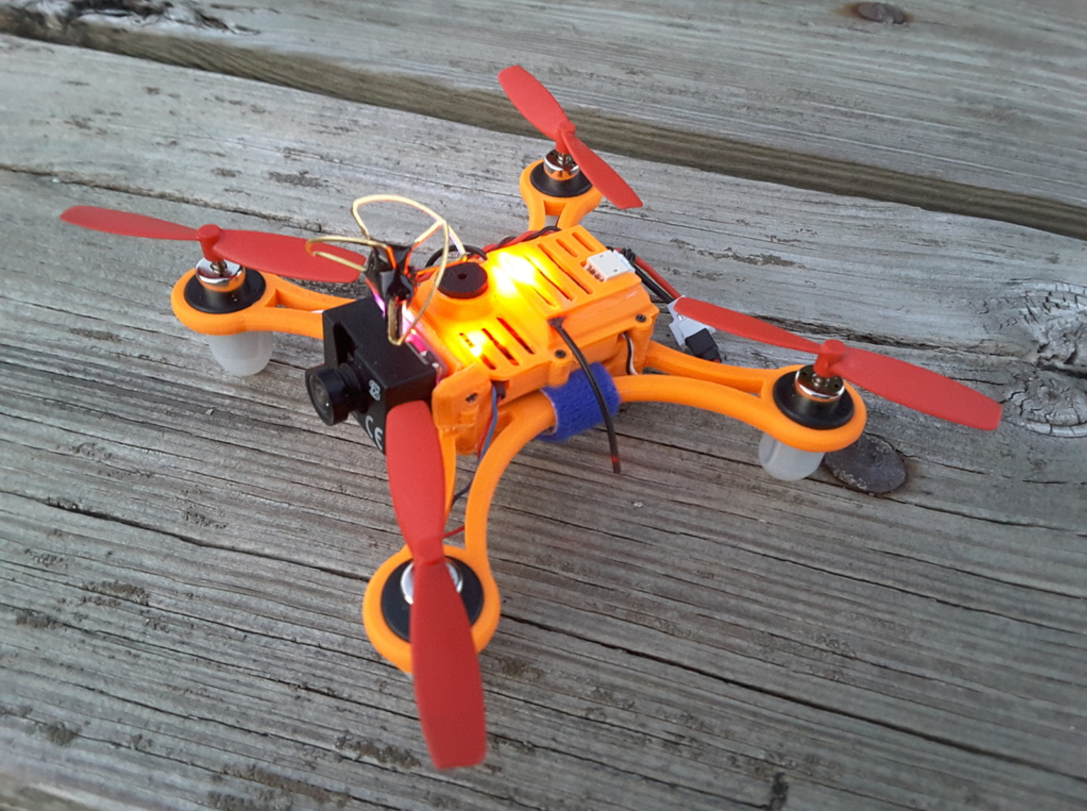 Capture d'écran 2017-02-20 à 11.09.40.png Download free STL file DC110 ABS FPV for SP F3 RACING EVO Brush Flight control • 3D printable model, Microdure