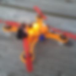 fixation_cam_DC110_fpv.stl Descargar archivo STL gratis DC110 ABS FPV para el Control de SP F3 RACING Vuelo EVO Brush • Modelo para imprimir en 3D, Microdure