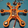 STL gratis Hexacopter 1S / 2S 125/110 mm spracing 8.5x20mm sin núcleo f3, Microdure