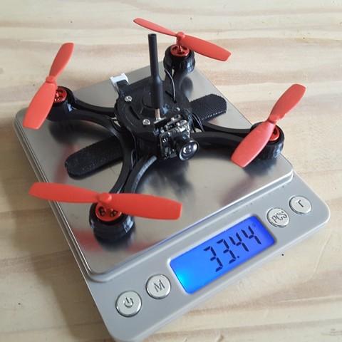 4991768090445389817_account_id=1.jpg Télécharger fichier STL gratuit Micro Quad fpv Racer 100mm Brushless 1S 0703 20.000kv • Modèle à imprimer en 3D, Microdure