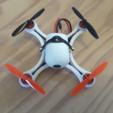 Download free STL file Mini Quadcopter fpv Racer 120mm micro FC lumenier racing F4 Brushless 1103 10.000kv 2S • 3D printable object, Microdure