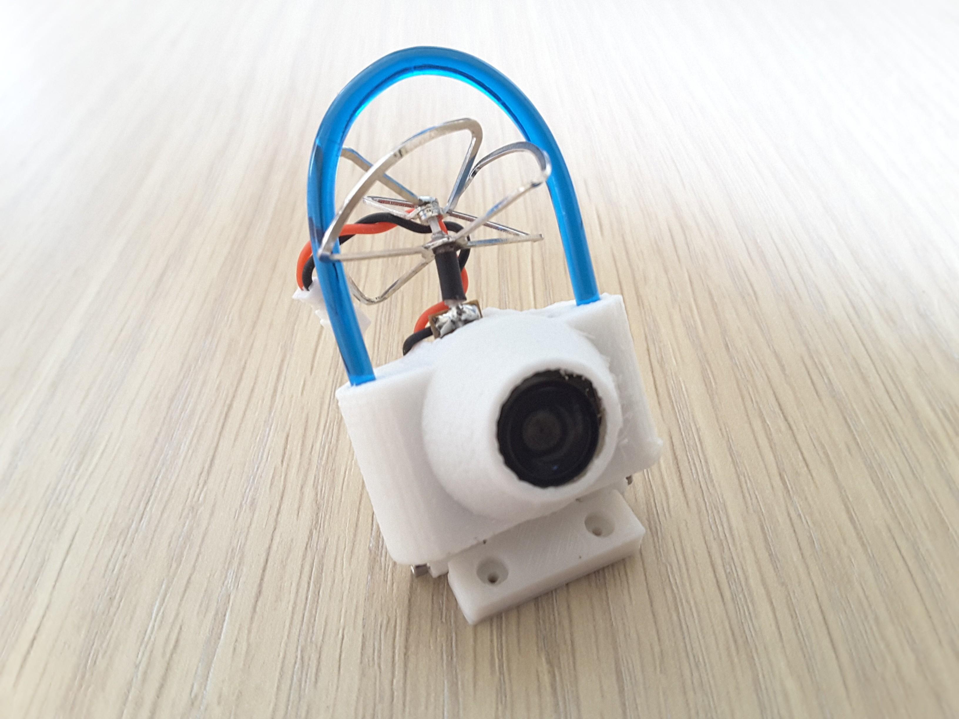 20170312_103423.jpg Descargar archivo STL gratis Protección de la cámara FPV TPU Eachine TX01 / TX02 / TX03 • Diseño para la impresora 3D, Microdure