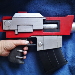 nedladdning (4).png Télécharger fichier STL Pistolet à boulon à motif d'ombre inspiré du Warhammer 40k • Design pour imprimante 3D, RandomCosplay